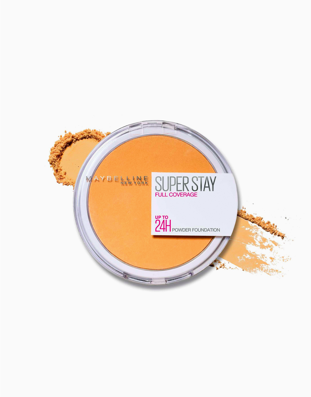 SuperStay 16HR Full Coverage Powder Foundation by Maybelline | 332 Golden Caramel