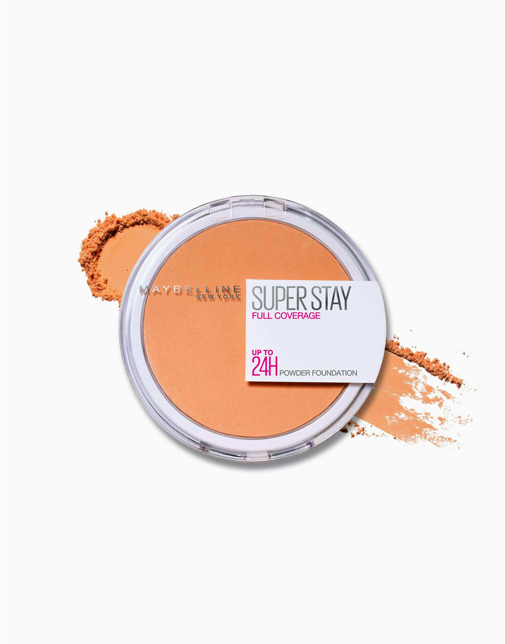 SuperStay 16HR Full Coverage Powder Foundation by Maybelline | 320 Honey