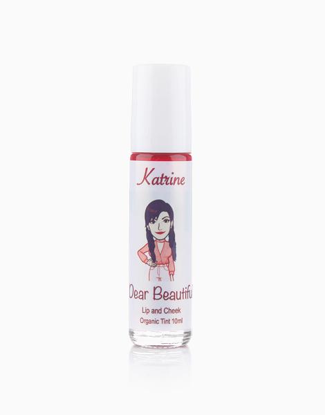 All Natural Lip and Cheek Tint by Dear Beautiful | Katrine (Peach Twist)