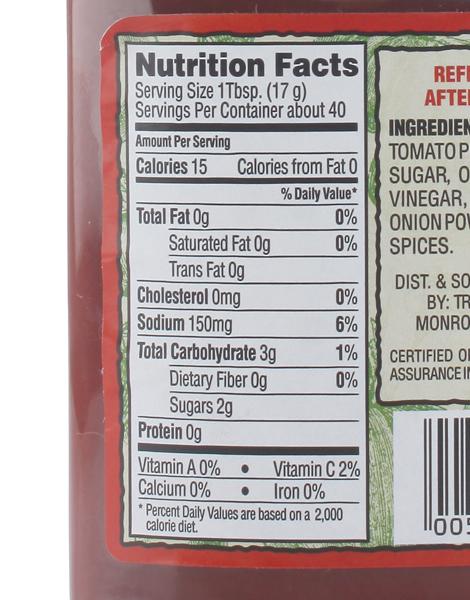 Organic Tomato Ketchup (680g) by Trader Joe's