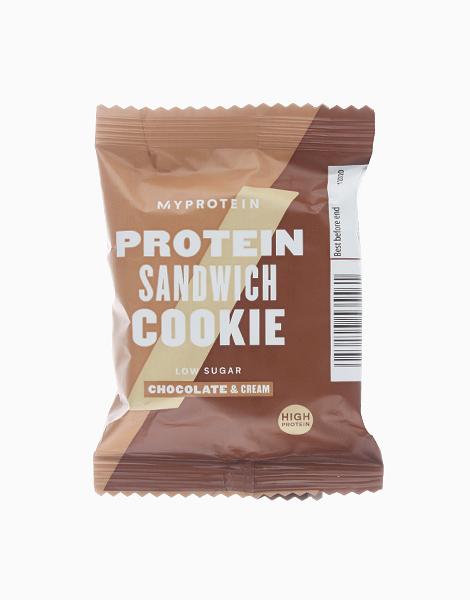 Chocolate & Cream Protein Sandwich Cookie (30g) by MYPROTEIN