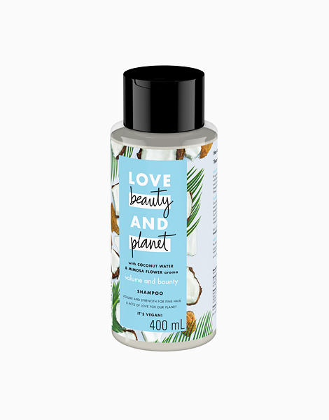 Coconut Water & Mimosa Flower Shampoo - Volume and Bounty (400ml) by Love Beauty and Planet