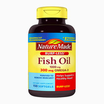 Nature made burpless fish oil 1000 mg with omega 3 300 mg   150 softgels
