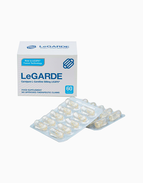 Carnipure L-Carnitine 500mg (60 Licaps) by LeGARDE