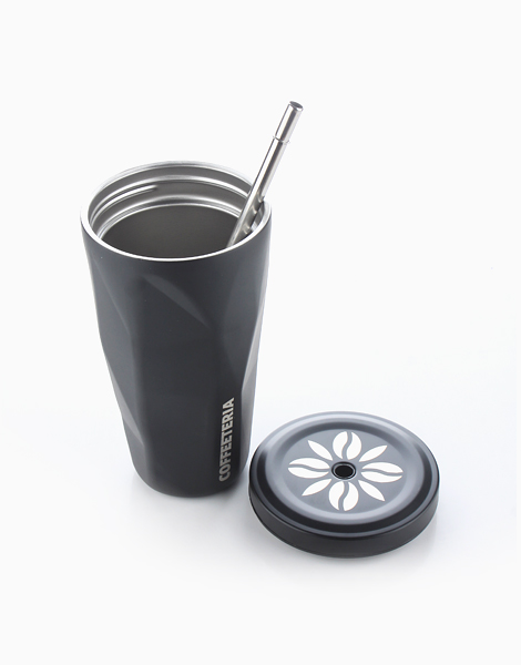 Double Wall Vacuum Tumbler by Coffeeteria | Matte Black