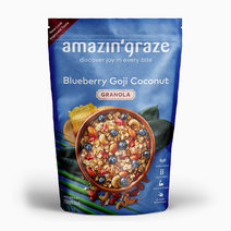 Blueberry Goji Coconut Granola (250g) by Amazin' Graze