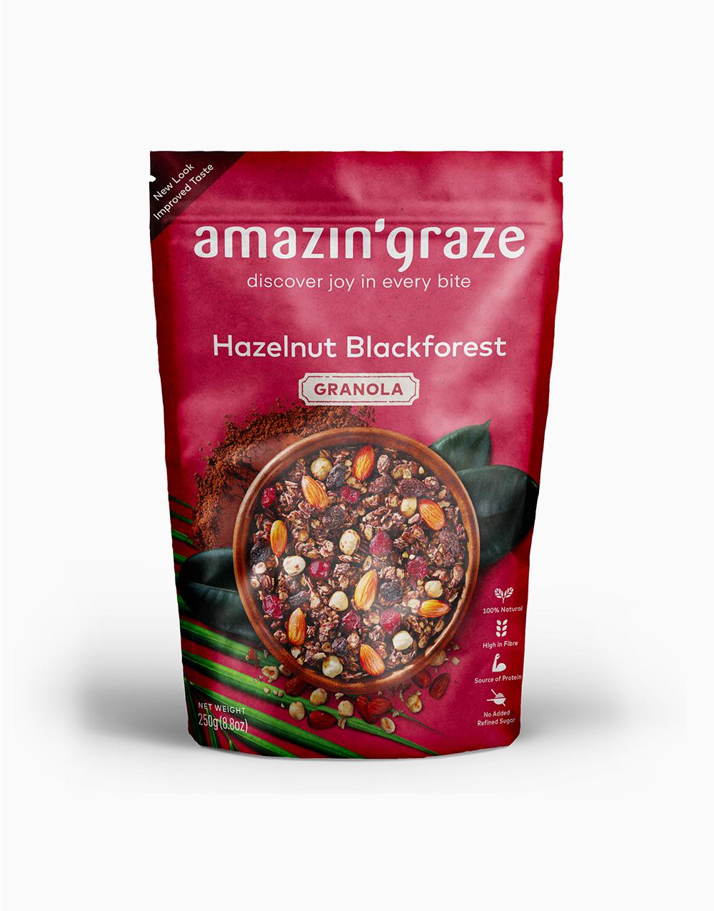 Hazelnut Black Forest Granola (250g) by Amazin' Graze