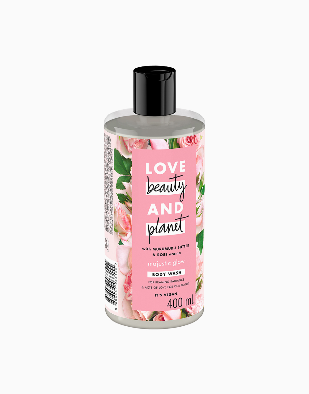 Love Beauty And Planet Murumuru Butter & Rose Body Wash Majestic Glow (400ml) by Love Beauty and Planet