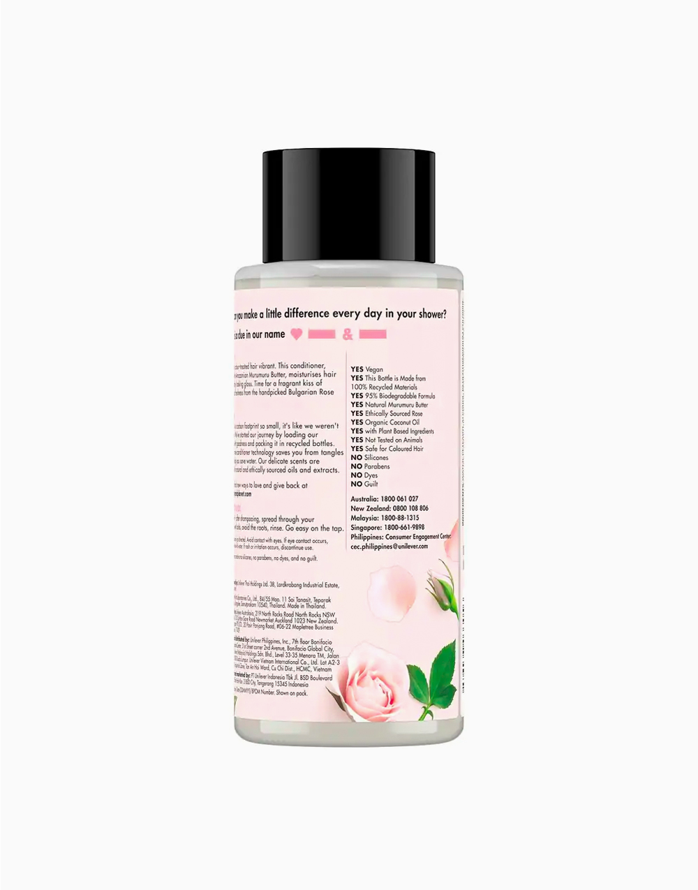 Love Beauty And Planet Murumuru Butter & Rose Conditioner Blooming Color (400ml) by Love Beauty and Planet