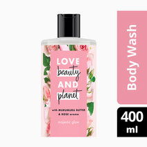Love beauty and planet murumuru butter   rose body wash majestic glow 400ml