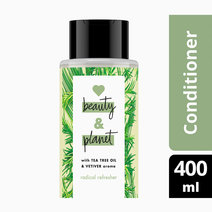 Love beauty and planet tea tree   vetiver conditioner radical refresher 400ml