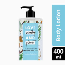 Love beauty and planet coconut water   mimosa flower body lotion luscious hydration 400ml
