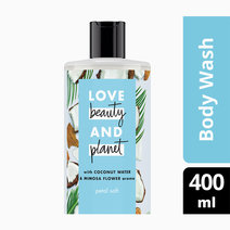 Love beauty and planet coconut water   mimosa flower body wash petal soft 400ml