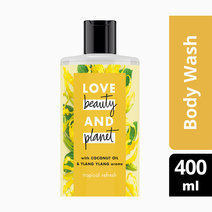 Love beauty and planet coconut   ylang ylang body wash tropical refresh 400ml
