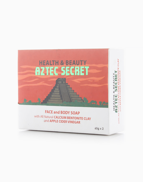 Facial and Body Soap with Bentonite and Apple Cider Vinegar by Aztec Secret