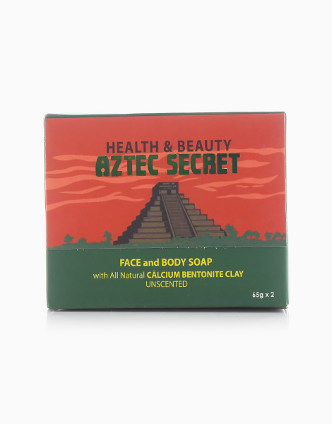 Facial and Body Soap with Bentonite by Aztec Secret