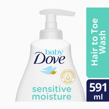 Baby dove hair to toe wash sensitive moisture 591 ml