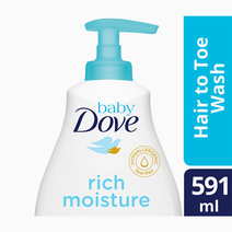 Baby dove hair to toe wash rich moisture 591 ml