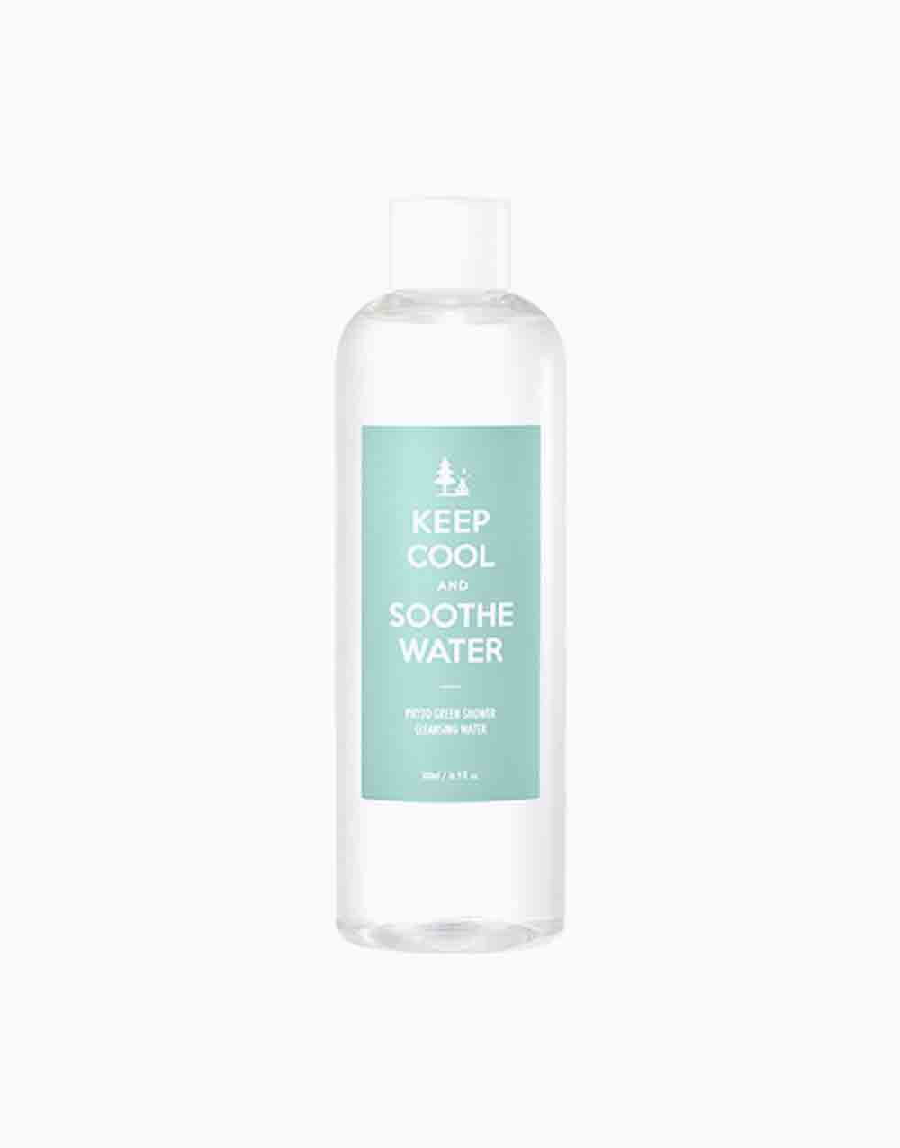 Soothe Pytho Green Shower Cleansing Water (500ml) by KEEP COOL