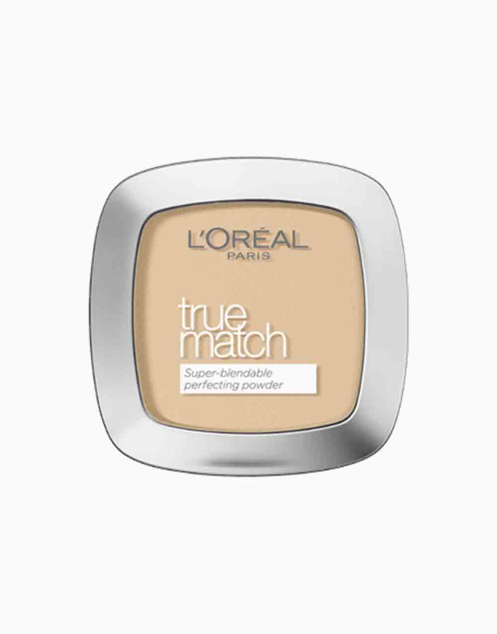 True Match Skin-Caring Skin-Matching Pressed Powder by L'Oréal Paris | 1D Golden Ivory