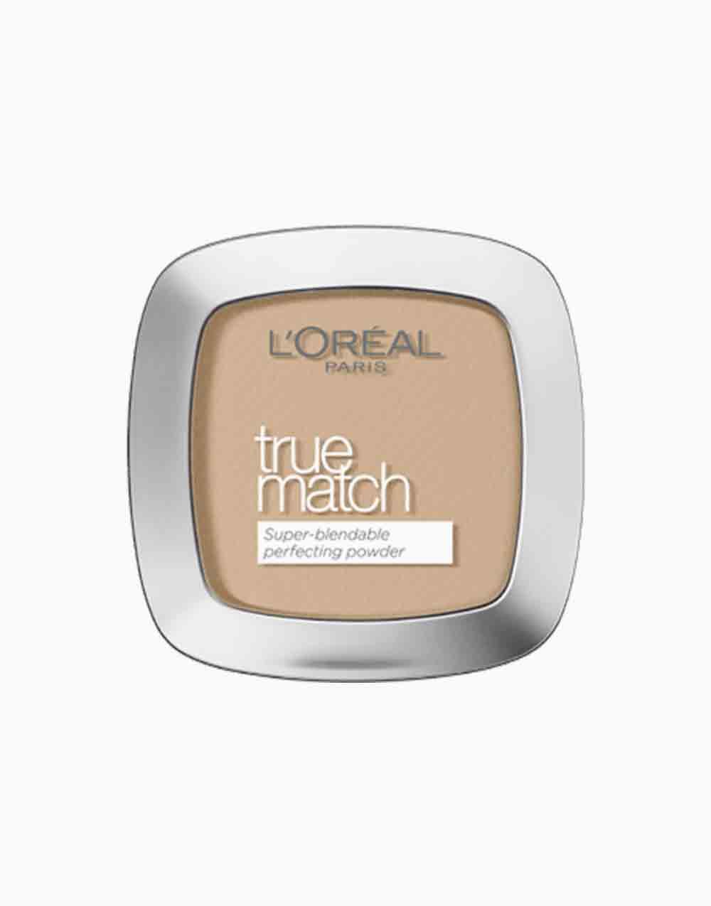 True Match Skin-Caring Skin-Matching Pressed Powder by L'Oréal Paris | 4N Beige