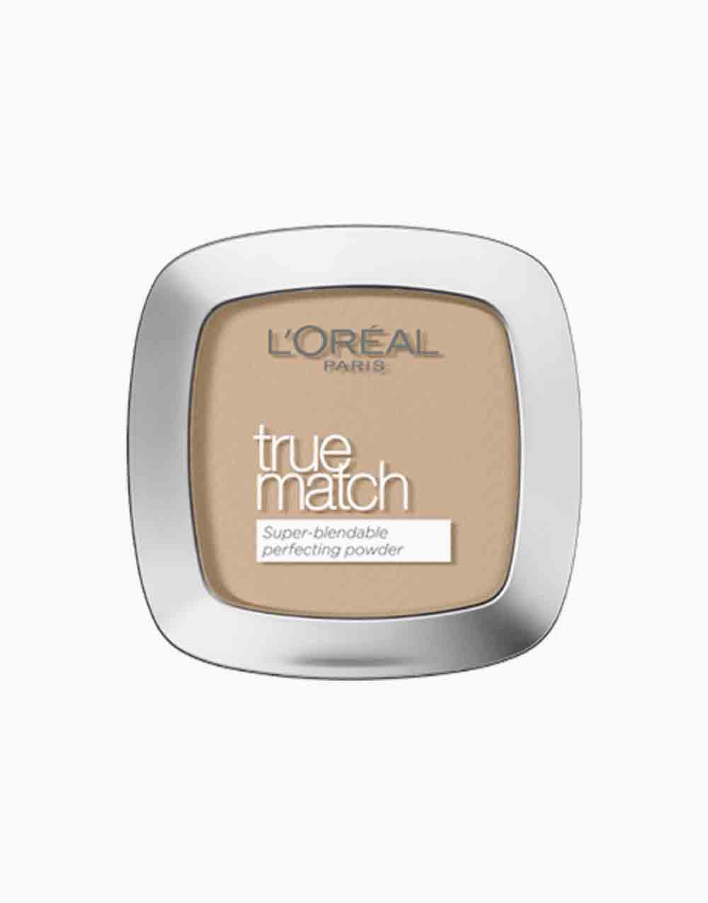 True Match Skin-Caring Skin-Matching Pressed Powder by L'Oréal Paris | 4D Golden Natural