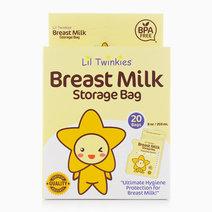 Breast Milk Storage Bag 20's by Li'l Twinkies
