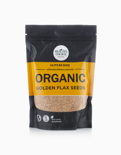Organic Golden Flax Seed (300g) by Healthy Choice PH