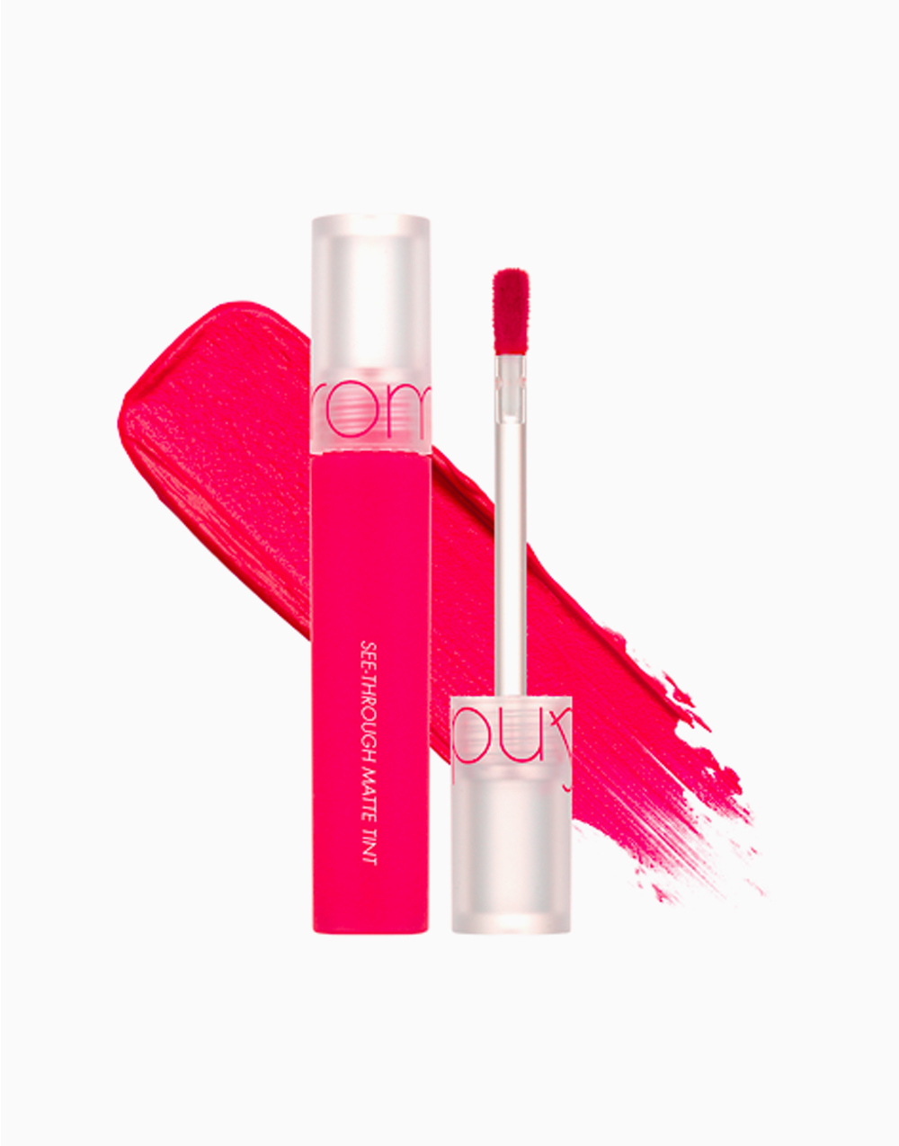 See Through Matte Tint by Rom&nd   Pink Fold