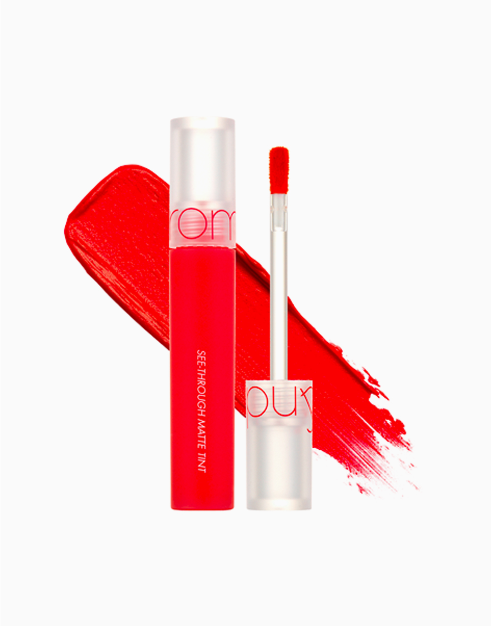 See Through Matte Tint by Rom&nd   Red Chain