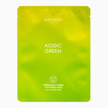 Scentence acidic green refreshing sorbet soothing mask%288809507387933%29