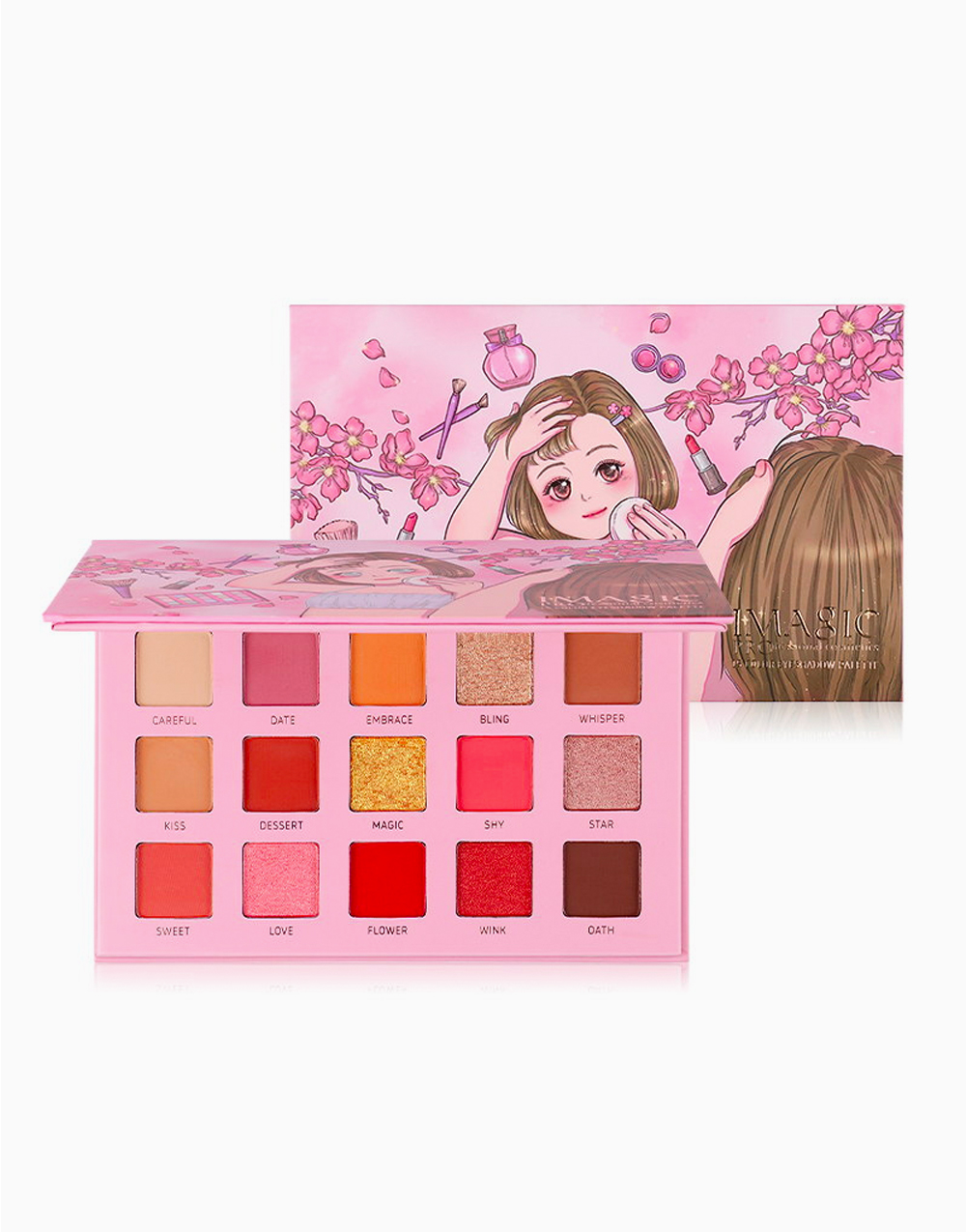 Baby Cute 15-Color Eyeshadow Palette by Imagic