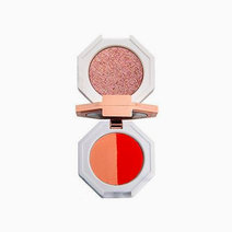 Hojo cosmetics dear marble 3 color eyeshadow with mirror  1
