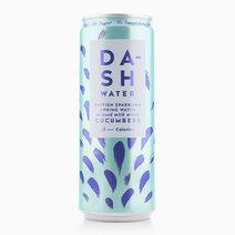Dash Cucumber Sparkling Water (330ml) by Raw Bites