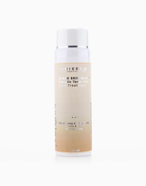 Glass Skin Glow Glycolic Toner 10% AHA Treatment by Lumiere Organiceuticals