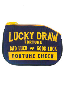 Lucky Draw Coin Purse by Artwork