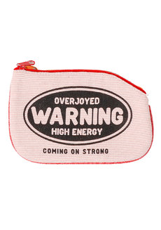 Warning Coin Purse by Artwork
