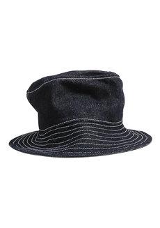 Black Denim Bucket Hat by Artwork
