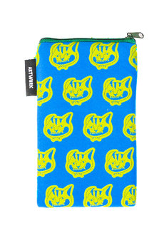 Pusa Cat Vertical Pouch by Artwork