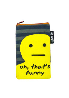 That's Funny Vertical Pouch by Artwork