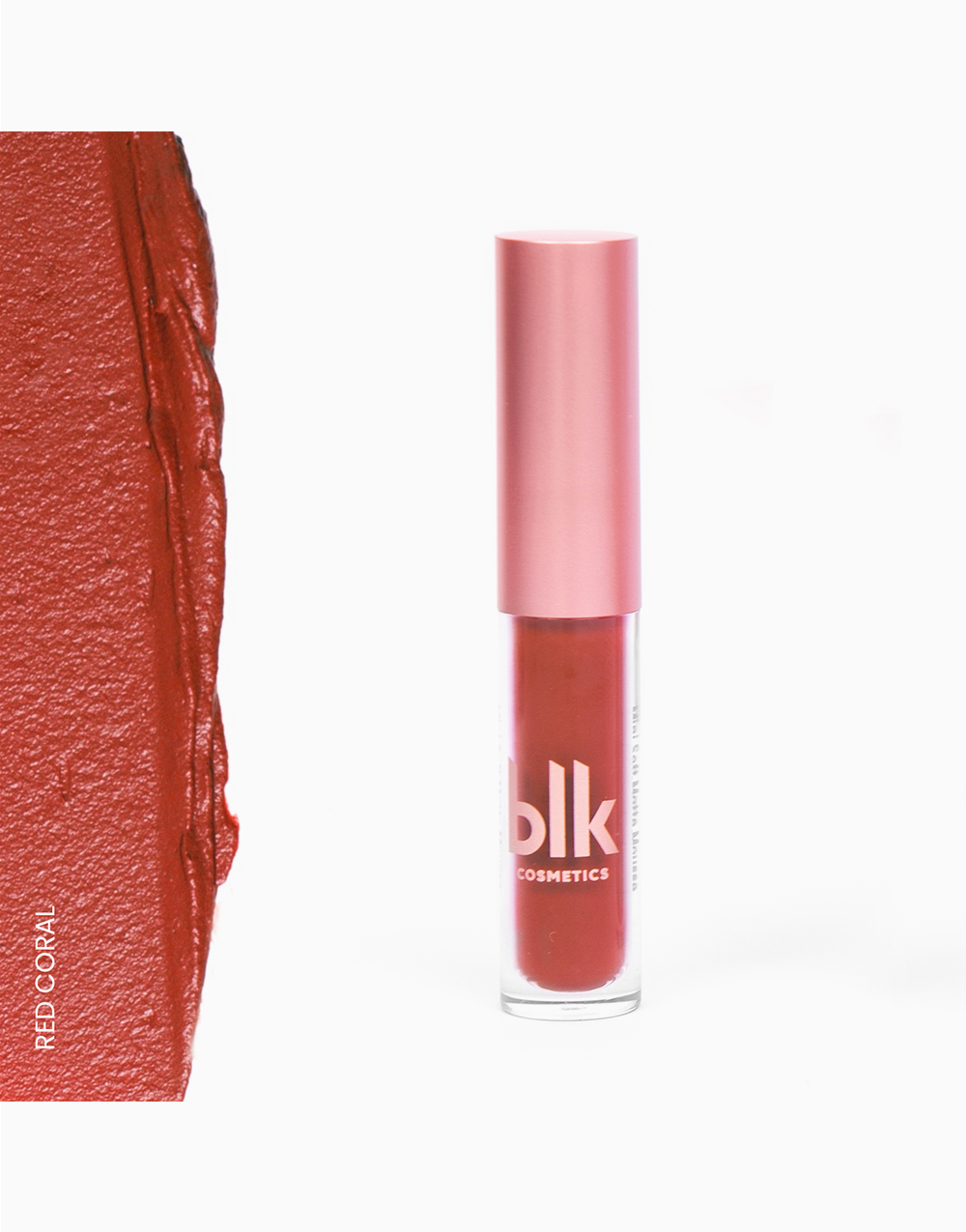 Mini Soft Matte Mousse by BLK Cosmetics | Red Coral