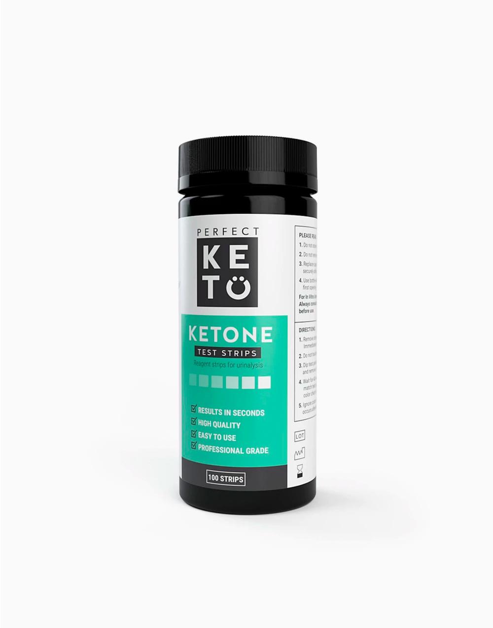 Perfect Keto Ketone Test Strips (100 Strips) by Perfect Keto