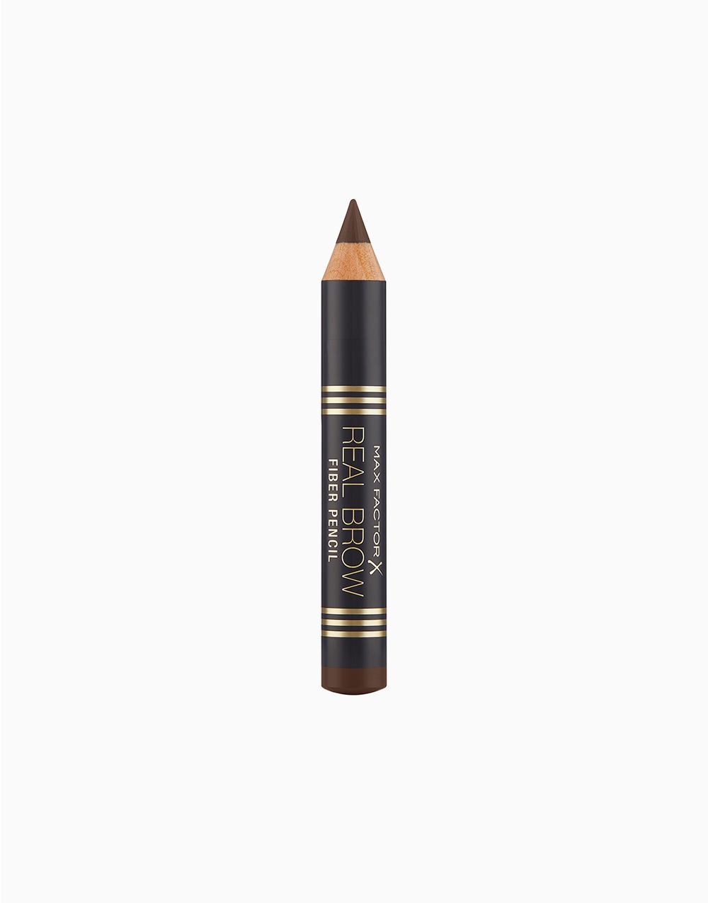 Real Brow Fiber Pencil by Max Factor   Deep Brown