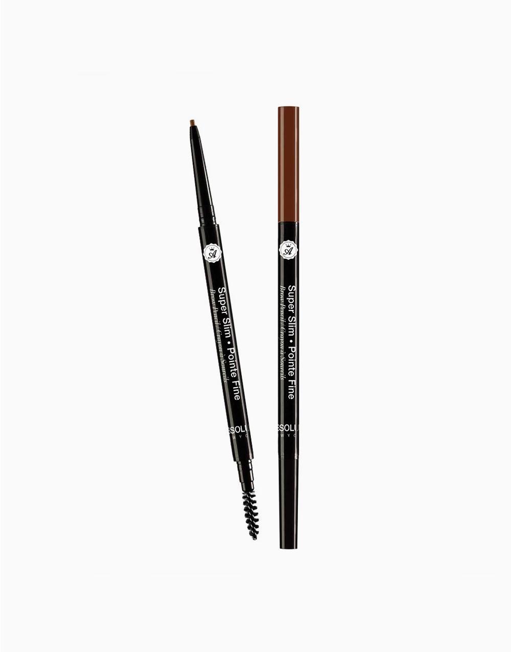 Super Slim Eye Brow Pencil by Absolute New York | Pecan