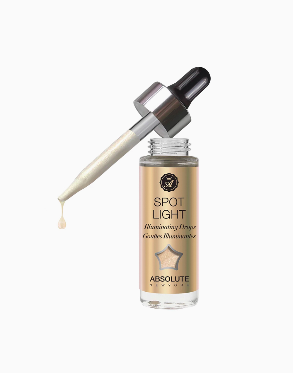 Spotlight Drops by Absolute New York | White True Gold