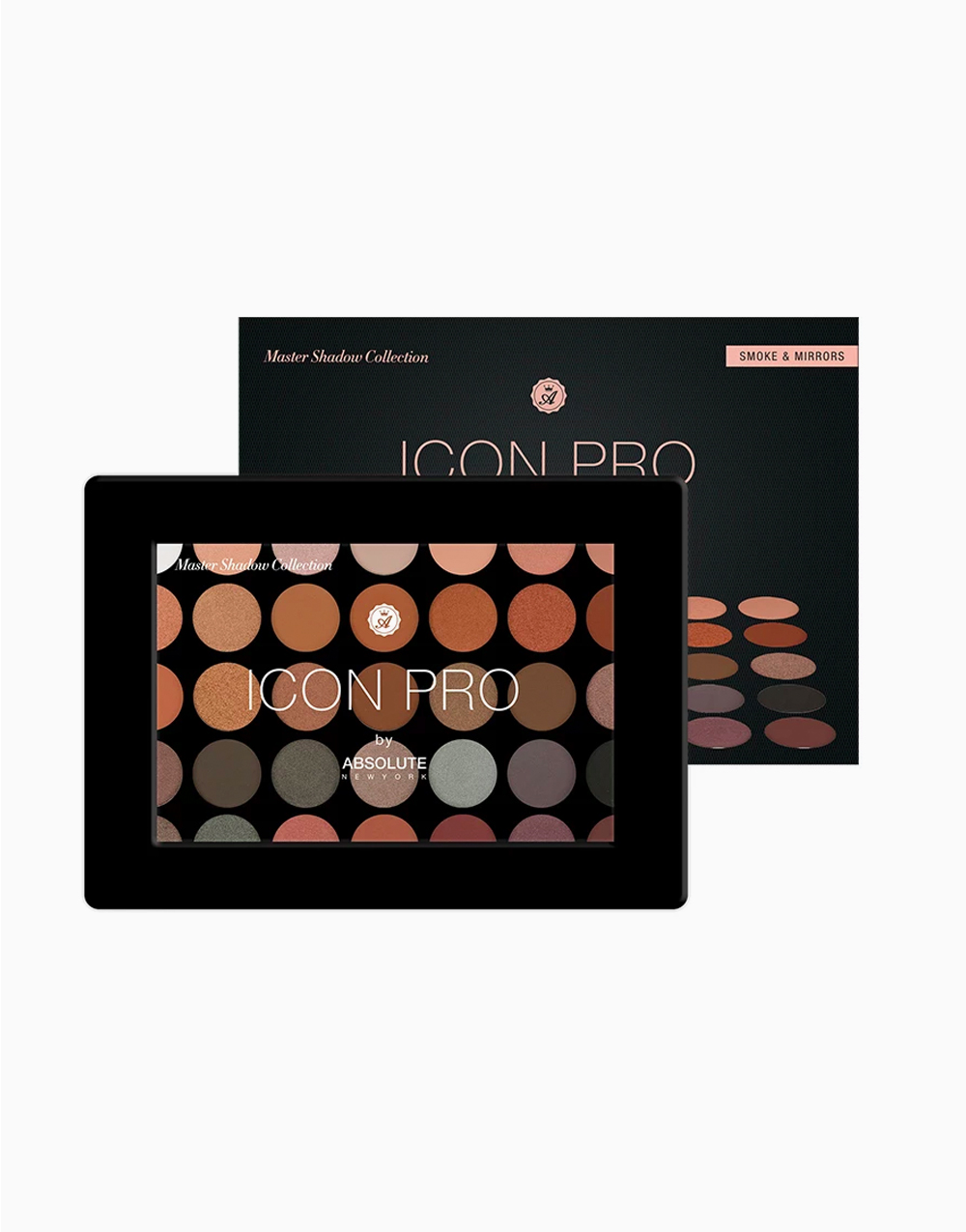 Icon Pro Eye Shadow Palette by Absolute New York | Smoke & Mirrors