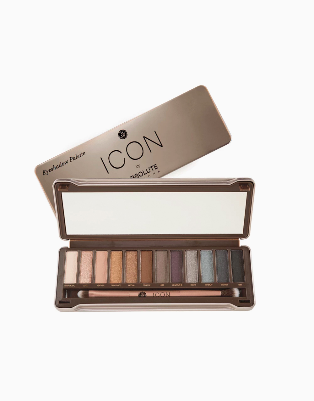Icon Eye Shadow Palette by Absolute New York | Exposed (matte)
