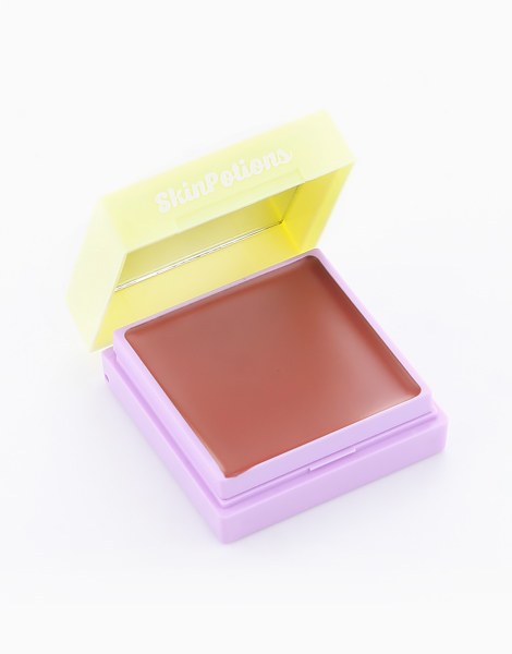 Glam Pocket by Skinpotions | Chill Pill - Rosy Mauve/ Dazzling Gold