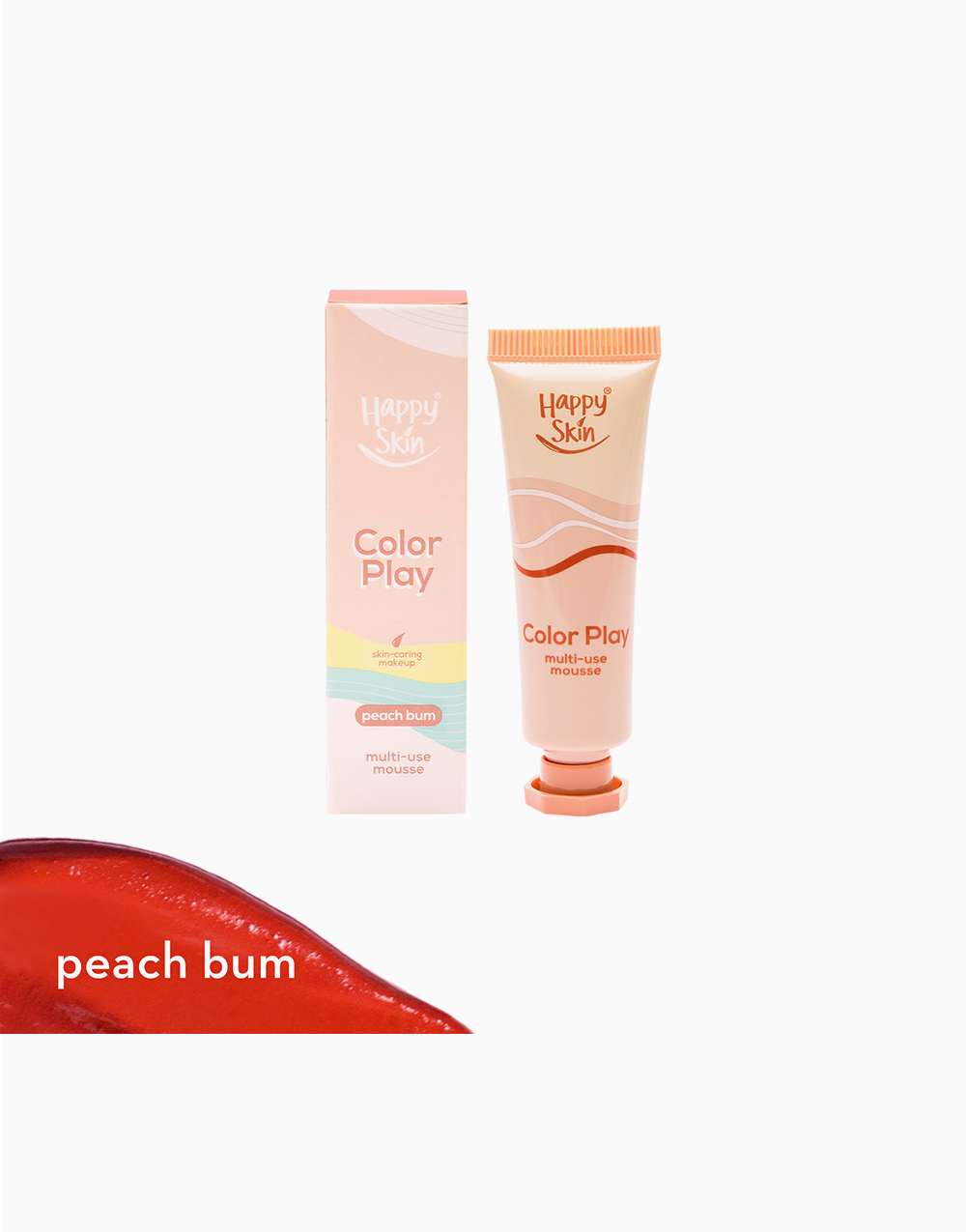 Color Play Multi-Use Mousse by Happy Skin | Peach Bum