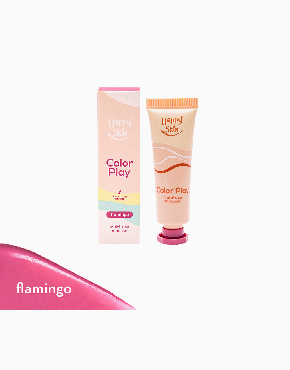 Color Play Multi-Use Mousse by Happy Skin | Flamingo